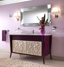accessories awesome grey bathroom designs concept ideas purple