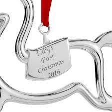 baby s ornament 2016 nambe ornament silver