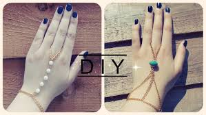 diy chains bracelet images Diy festival accessories hand and ring chain mahum tariq jpg