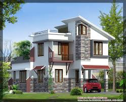 Indian House Designs And Floor Plans by Latest Villa Elevation At 1577 Sq Ft Best Elevation Http Www