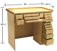 Jewellery Work Bench Pdf Plans Jewellers Bench Dimensions Download Diy Jewelry Box