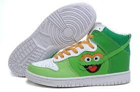 Comfortable Nike Shoes Nike Dunk High Oscar Mens Shoes Green White 6944687