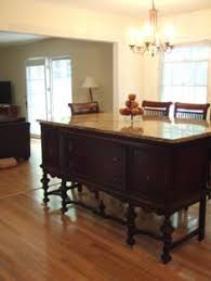 kitchen island buffet kitchen island made from buffet and a of granite