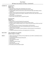 teller resume exle bank teller resume sles velvet