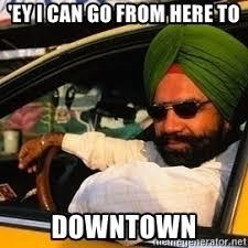 Taxi Driver Meme - sikh taxi driver meme generator