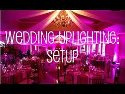 uplighting for weddings wedding uplighting setup in banquet