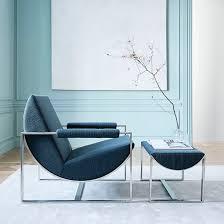 West Elm Lounge Chair Happy Mundane Jonathan Lo West Elm X Bower Collection
