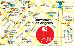 map of downtown los angeles downtown los angeles arts district expands maps