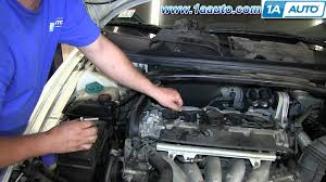 how to install replace engine ignition coil 1999 2007 volvo v70