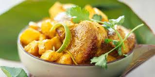 cuisiner la mangue colombo à l antillaise de porc et de mangue facile recette sur
