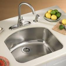 American Kitchen Sink American Standard Undercounter Mount Single Bowl Kitchen Sink