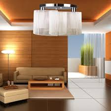 Clearly Modern Semi Flush Ceiling Light Ceiling Lights Extraordinary Contemporary Semi Flush Ceiling