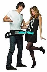 couples costumes rasta imposta usb port and stick couples costume funtober