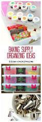 baking supply organizing ideas kitchen concoctions