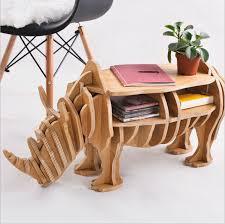 household furniture online shop webetop luxury assemble rhinoceros side table wood
