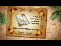 thanksgiving poems a z of thanksgiving