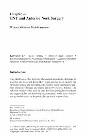 How To Address Business Email by Ent And Anterior Neck Surgery Springer