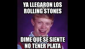 Rolling Stones Meme - rolling stones en lima graciosos memes invaden twitter tras su