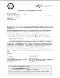 survey cover letters