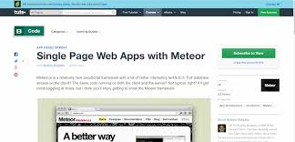 6 courses to jumpstart your meteor career