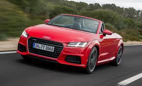 convertible audi red 2016 audi tt roadster first drive u2013 review u2013 car and driver