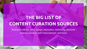 Best Place To Get Business Cards How To Curate Content Quickly 70 Places To Find Great Content