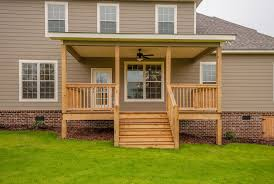 Back Porches by Standard Features Custom Home Builders Augusta Ga