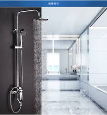 Bathroom Shower Price Dofaso Low Price Exposed Shower Faucets Mixers Taps Bathroom