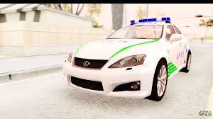 lexus isf v10 lexus is f pdrm for gta san andreas