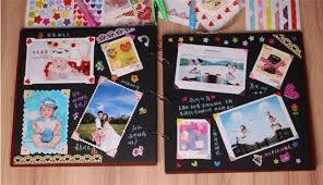 handmade scrapbook albums 16 inch diy scrapbooking photo album paste type handmade scrapbook