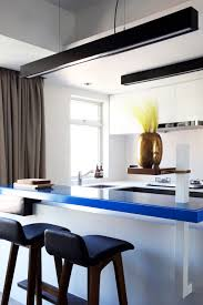 High End Bachelor Pad Design A Hong Kong Bachelor Pad Gets A Bold Bright And Blue Update