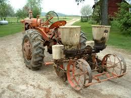 2 Row Corn Planter by 2 Row Rear Mounted Drill Planter Allischalmers Forum