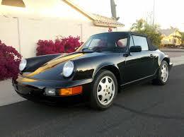 porsche 964 cabriolet 1991 porsche 911 cabriolet 5spd 45600 miles blk blk mint 964