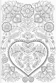 scandinavian coloring book pg 41 color pages stencils