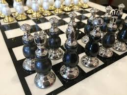 luxury chess set luxury chess set with black ivory board mulberry moon