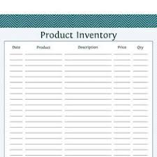 Simple Inventory Sheet Template by Free Inventory Forms Preview Of The Small Simple Inventory