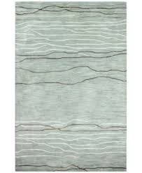 Gray Area Rug Kenneth Mink Waves 8 6 X 11 6 Area Rug Created For Macy S
