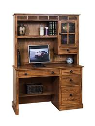 Oak Computer Desk With Hutch by Sd 2968ro D 49
