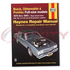oldsmobile 98 haynes repair manual regency luxury base brougham