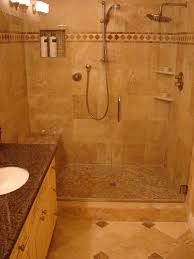 exquisite small bathroom with shower designs using mosaic tiles