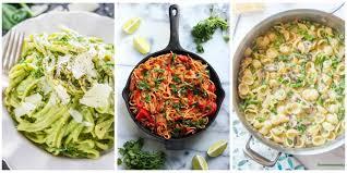 Cheap And Quick Dinner Ideas 25 Healthy Pasta Recipes Light Pasta Dinner Ideas