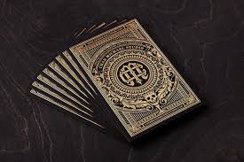 is chad michael s gold painted business card the most beautiful in