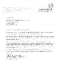 Thank You Letter Sample Business by Welcome Letter From Fort Worth Independent Districtwelcome