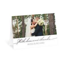 wedding thank you card wedding thank you cards s bridal bargains