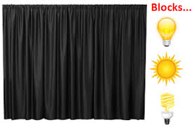 Thick Black Curtains Stunning Thick Black Curtains Designs With Industrial Blackout