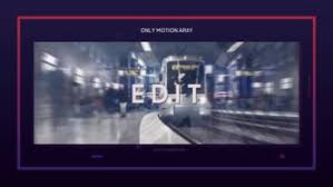 text after effects templates motion array