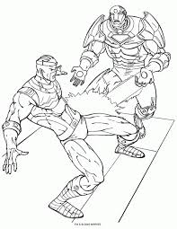 coloring iron man coloring pages 10