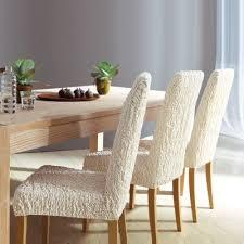housses pour chaises housse gaufrée extensible pour tous types de chaises acheter ce