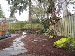 Backyard Landscaping Ideas For Small Yards by Triyae Com U003d Mulch Backyard Dogs Various Design Inspiration For
