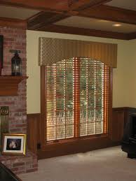 decorations country gold curved window cornice feature brown